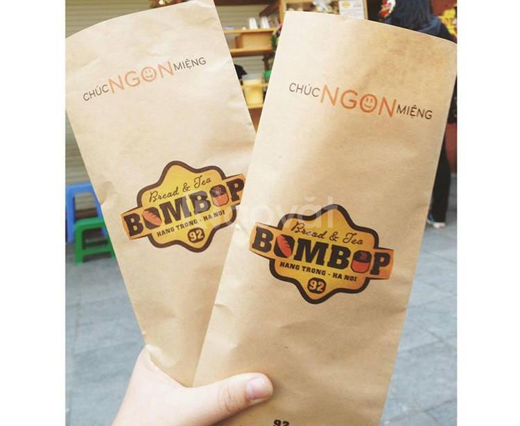 In túi giấy đựng bánh mì giá rẻ tại TPHCM