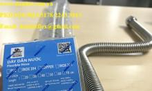 Dây dẫn nước inox 304, dây dẫn nước mềm inox 304, khớp nối mềm