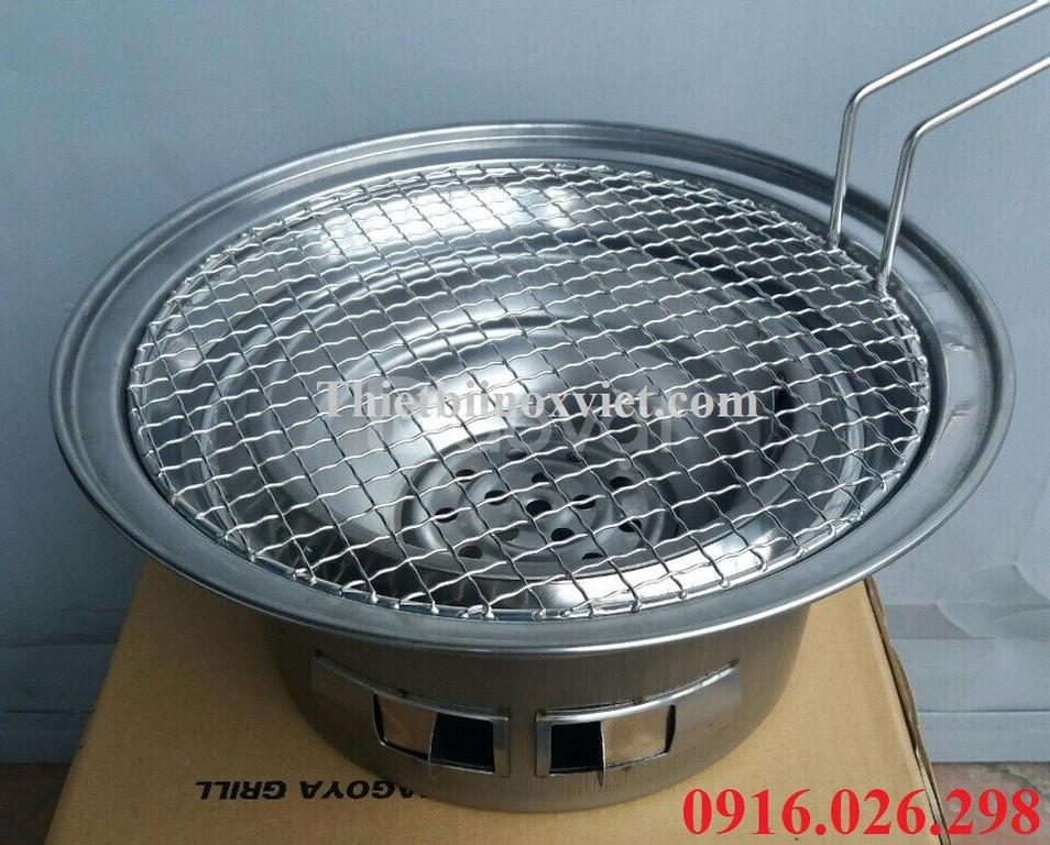 Bếp nướng than hoa âm bàn (ảnh 3)