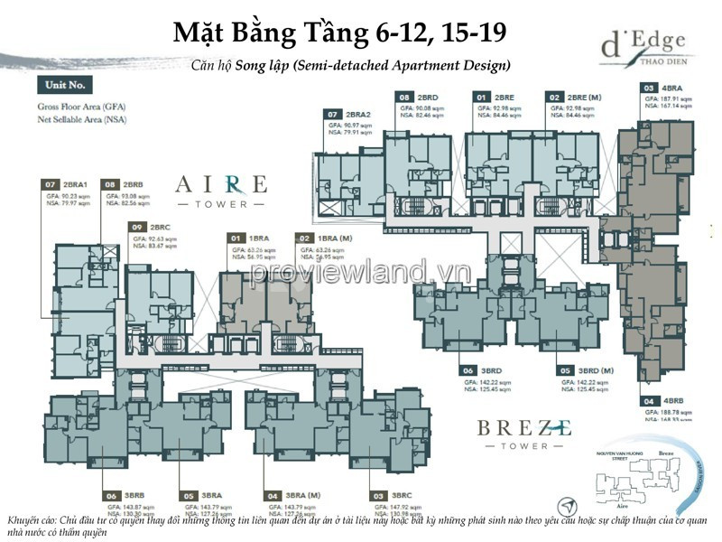 Chủ nhà đi Canada nên cần bán lại căn hộ D'edge Quận 2 97m2 2PN (ảnh 2)