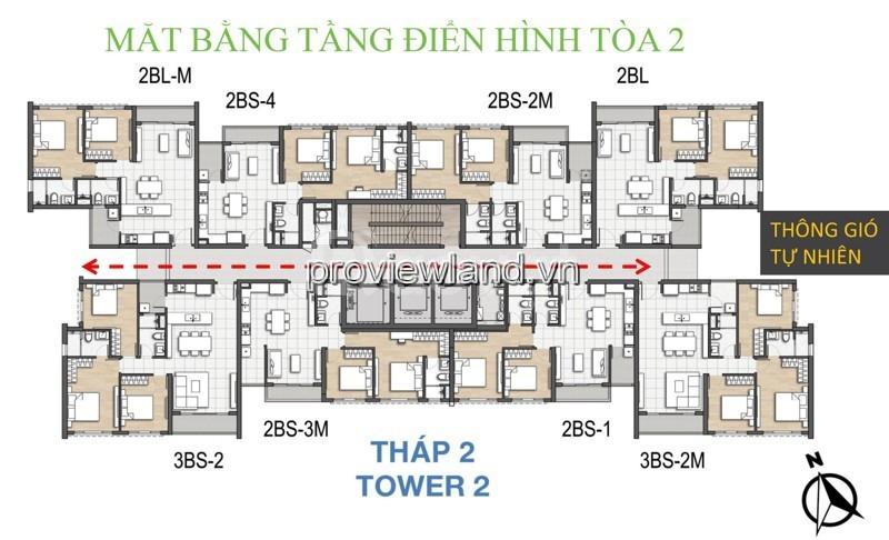 Chủ nhà cần bán lại CH Palm Height Kepple Land tầng 10 194m2 4PN (ảnh 3)