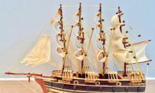 Mô hình thuyền chiến gỗ JYLLAND - thân 40cm