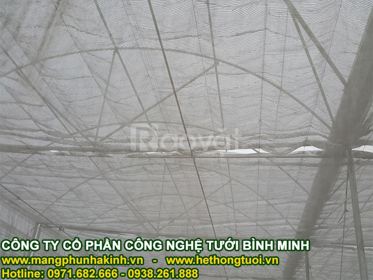 Vật tư nhà lưới, giá lưới làm nhà lưới