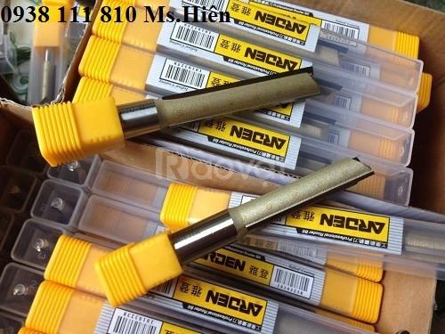 Dao phá thô Arden 12,7 - 8 lưỡi 25mm, máy cnc đục gỗ