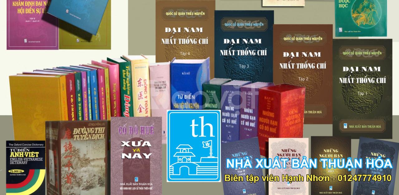 Tư vấn cấp phép, xuất bản - nhà xuất bản Thuận Hóa (ảnh 1)