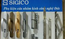 Phụ kiện Sigico chính hãng cho nhôm hệ Xingfa, WD, PMI