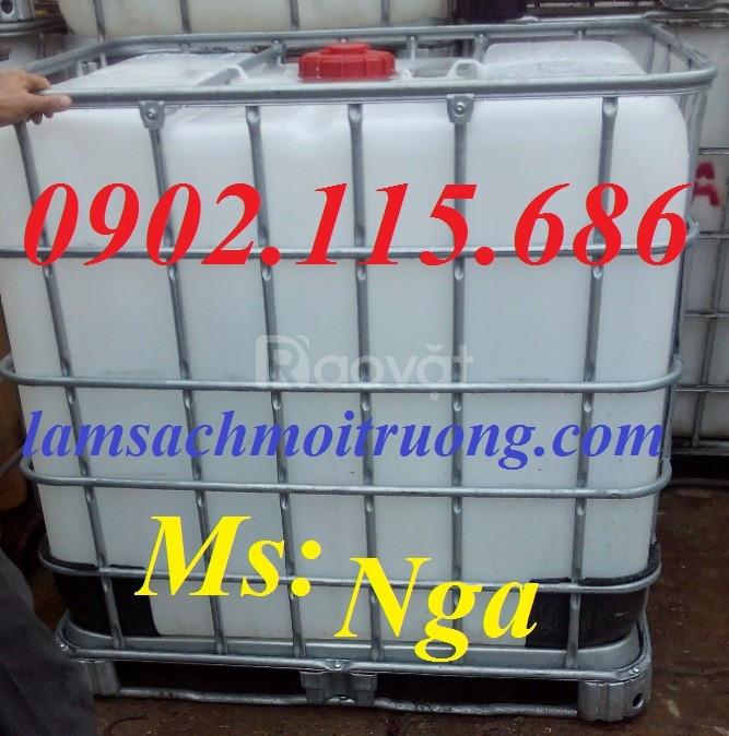 Tank nhựa, bồn nhựa 1000 lit Hà Nội giá rẻ