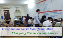 Khai giảng lớp autocad 2d 3d ở Hà Nội