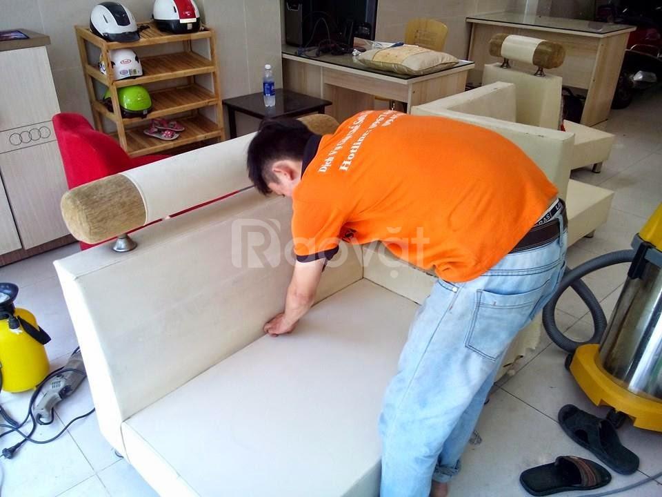 Dịch vụ giặt ghế sofa, dịch vụ giặt nệm, vệ sinh nhà