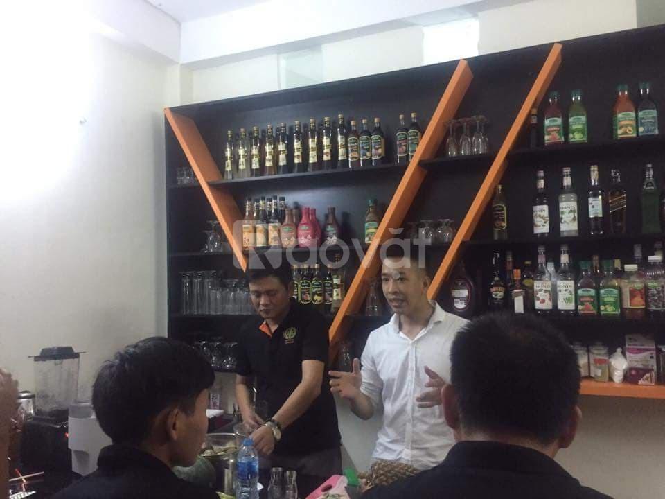 Học pha chế mở quán, học Bartender, hay Barista tại Đà Nẵng