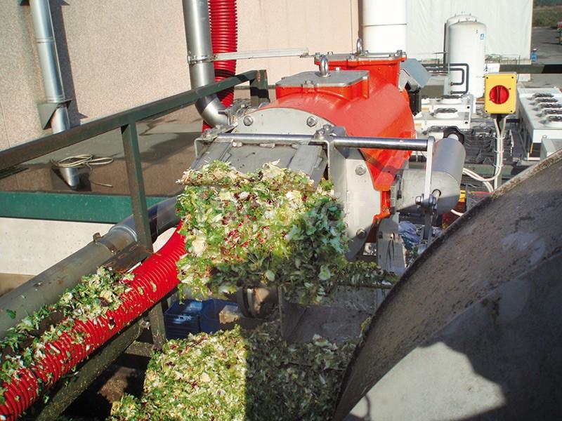 Máy ép tách nước bã bia, bã sắn, bã đậu nành, bã mắm, bã giấy, bã rau (ảnh 7)