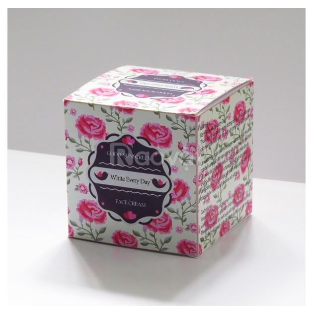 In hộp giấy đựng mỹ phẩm đẹp, chất lượng, giá rẻ tại TPHCM