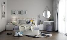 Phòng ngủ dễ thương với đồ nội thất tuyệt vời