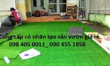 Cỏ nhân tạo, cỏ nhựa giả giá rẻ Hà Nội