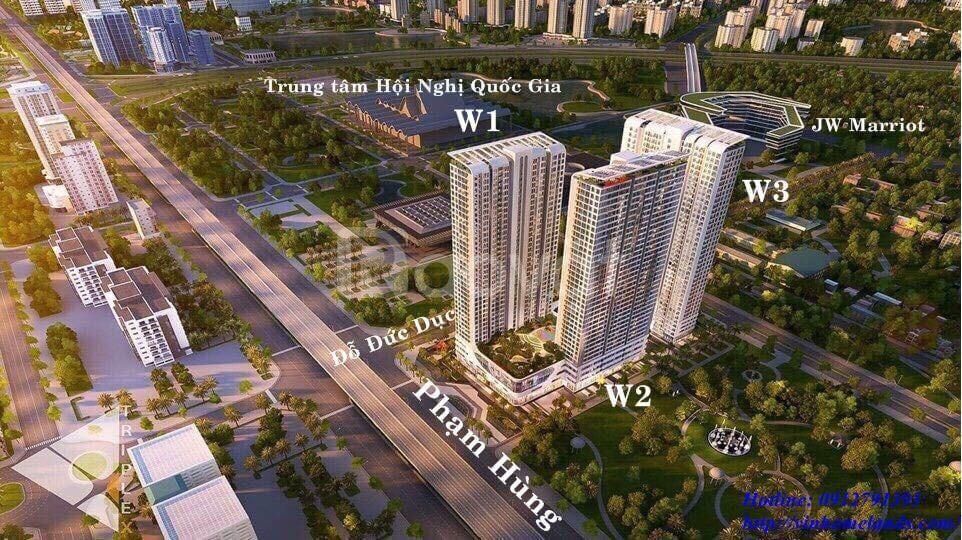 Nhà chung cư 3 ngủ khu vực Nam Từ Liêm – đường Phạm Hùng – Vinhome (ảnh 5)