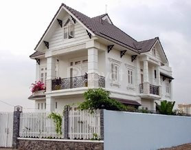 Xây nhà phố ở Bình Dương