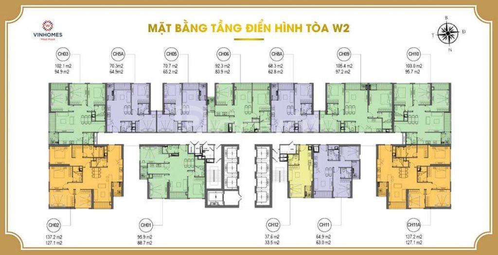 Nhà chung cư 3 ngủ khu vực Nam Từ Liêm – đường Phạm Hùng – Vinhome (ảnh 4)