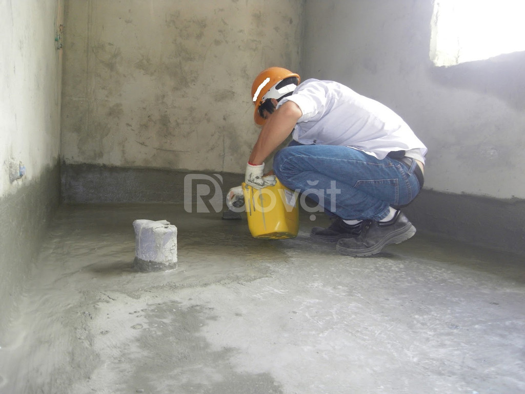 Sửa chữa, chống thấm dột trần, tường sàn nhà vệ sinh tại Phố Đại La