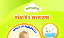 Yếm silicone cao cấp Pamama