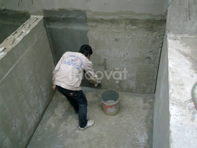 Sửa chữa, chống thấm dột trần, tường, sàn nhà vệ sinh tại Quận Tây Hồ