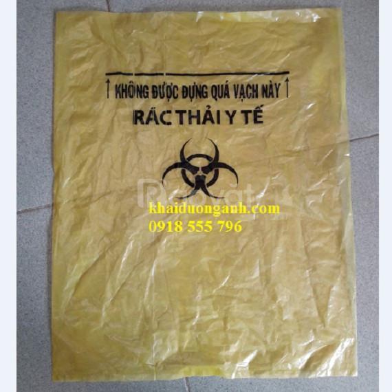 Cung cấp túi đựng rác bệnh viện, túi đựng rác công nghiệp miền tây