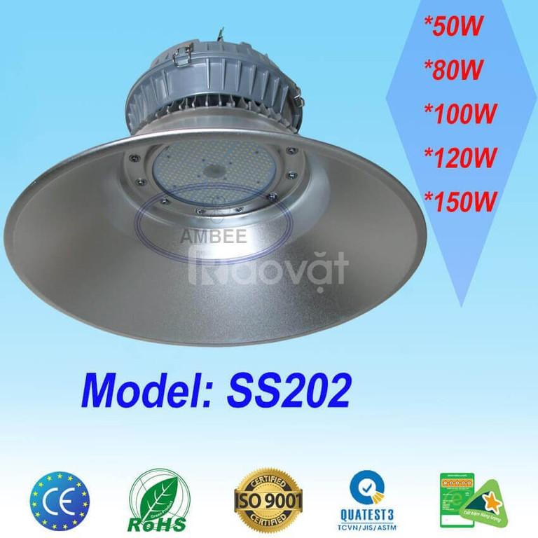 Đèn led nhà xưởng công suất 100W, 120W, 150W