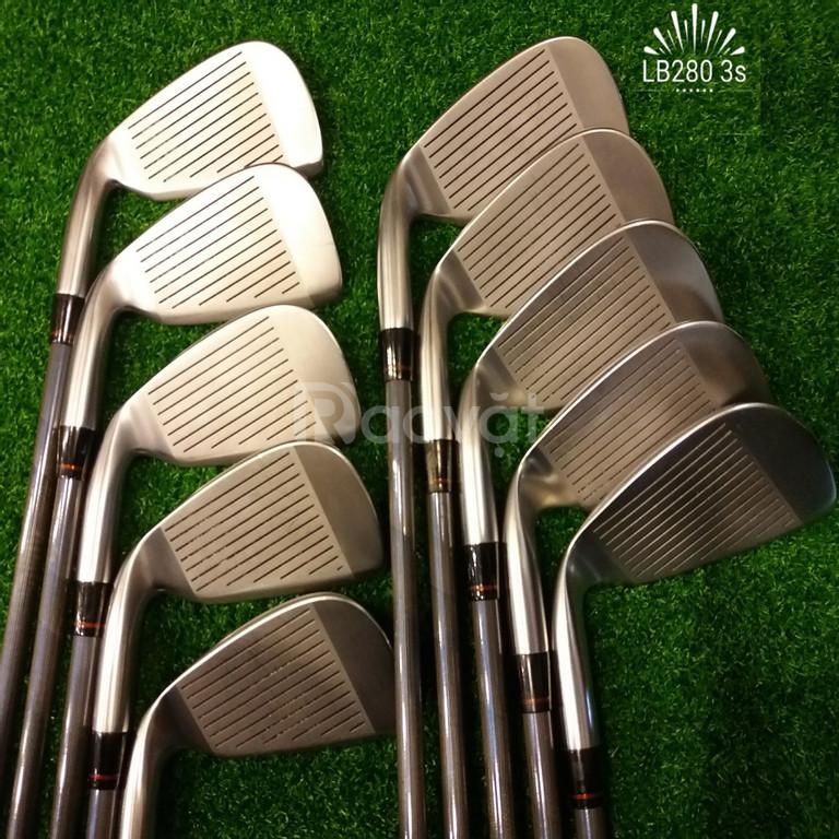 Bộ gậy golf Iron Honma LB280 3 sao cũ cổ độc lạ đẹp