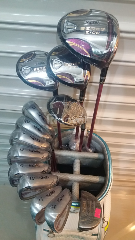 Bộ gậy Golf Honma Beres E-06 2 sao Ladies