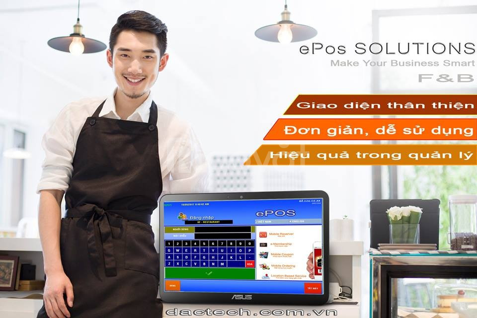 Phần mềm quản lý nhà hàng, cà phê