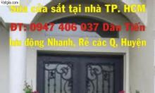Sửa cửa sắt dạo quận Gò Vấp - Hàn cửa sắt dạo quận Gò Vấp