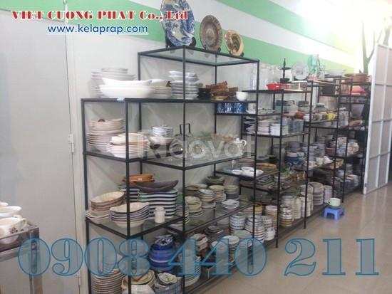 Chuyên cung cấp các oại kệ trưng bày sản phẩm tháo ráp VCP