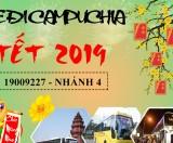 Bán vé xe đi Campuchia tết 2019 giá khuyến mãi