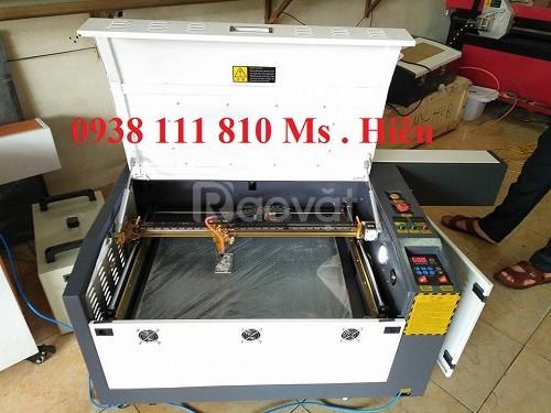Máy laser 6040 công suất 60W, máy laser cắt khắc gỗ