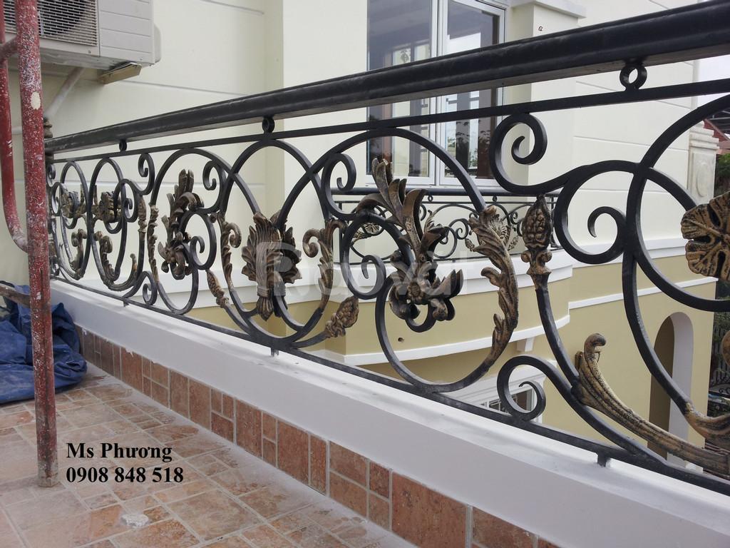 Thiết kế, gia công trọn gói cổng, vách ngăn, lan can, hàng rào sắt CNC
