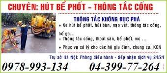 Thợ thông tắc tại Hà Nội giá rẻ gọi ngay
