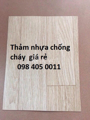 Thảm nhựa trải sàn Việt Nam an toàn giá rẻ