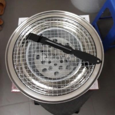 Bếp nướng than hoa inox Việt Nam xuất khẩu châu Âu