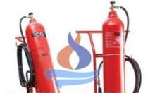Nạp sạc bình chữa cháy bột BC, bột ABC, khí CO2
