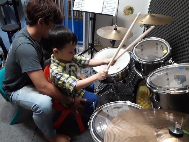 Khóa học đánh trống Jazz quận 7 - Musical Ý Nguyễn