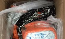 Palang xích kéo tay Nitto 5 tấn 5m, 3 tấn 3m, 1 tấn