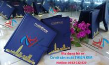 Cơ sở sản xuất bìa simili, bìa menu, sản xuất bìa giá rẻ theo yêu cầu