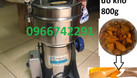 Máy xay bột mịn các loại tam thất, dược liệu đồ khô (ảnh 3)