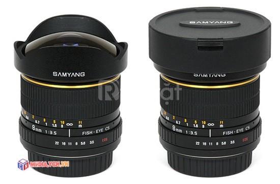 Cho thuê ống kính Fisheye của Samyang dùng cho máy ảnh Canon