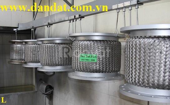 Ống nối mềm inox, khớp nối mềm, khớp chống rung inox (ảnh 6)