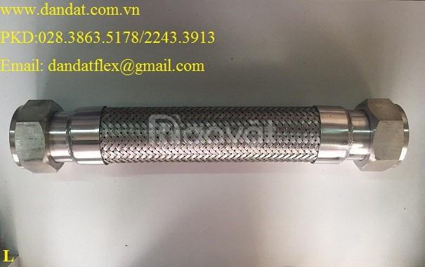 Ống nối mềm inox, khớp nối mềm, khớp chống rung inox (ảnh 2)