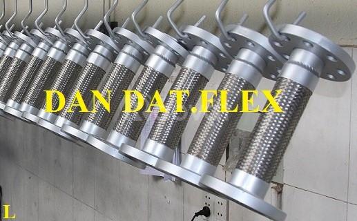 Ống nối mềm inox, khớp nối mềm, khớp chống rung inox (ảnh 4)