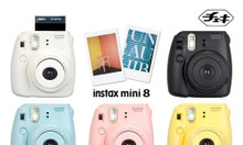 Cho thuê máy chụp ảnh lấy ngay Instax Mini 8 Fujifilm