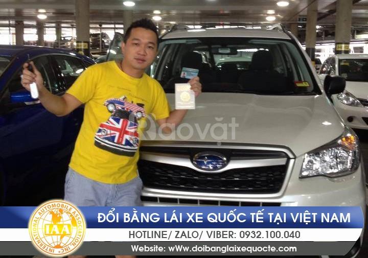 Dịch vụ đổi bằng lái xe quốc tế tại Hà Nội uy tín, chất lượng