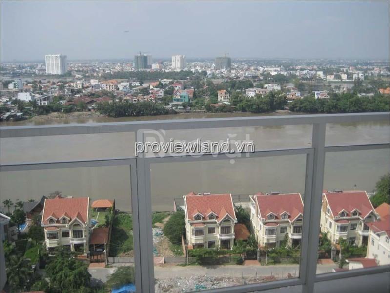Căn hộ River Garden bán tại Block B lầu 17 156m2 4 phòng ngủ view sông (ảnh 1)