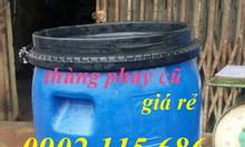 Thùng phuy nhựa 220l, thùng phuy sắt 220l